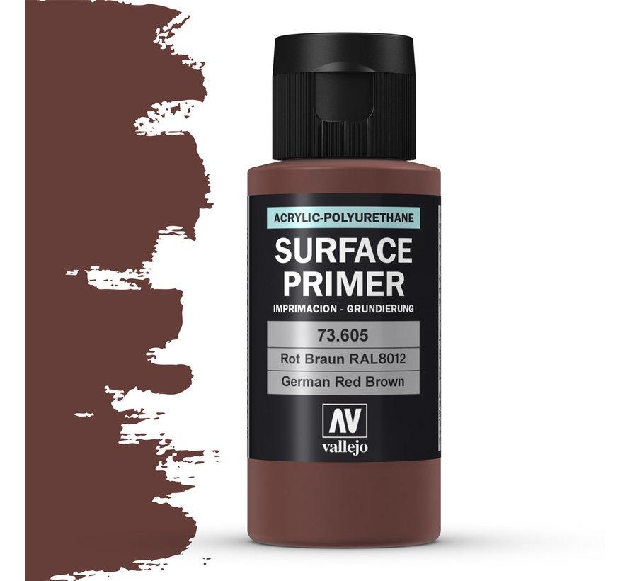 Vallejo Surface Primer German Red Brown - 60ml - 73605