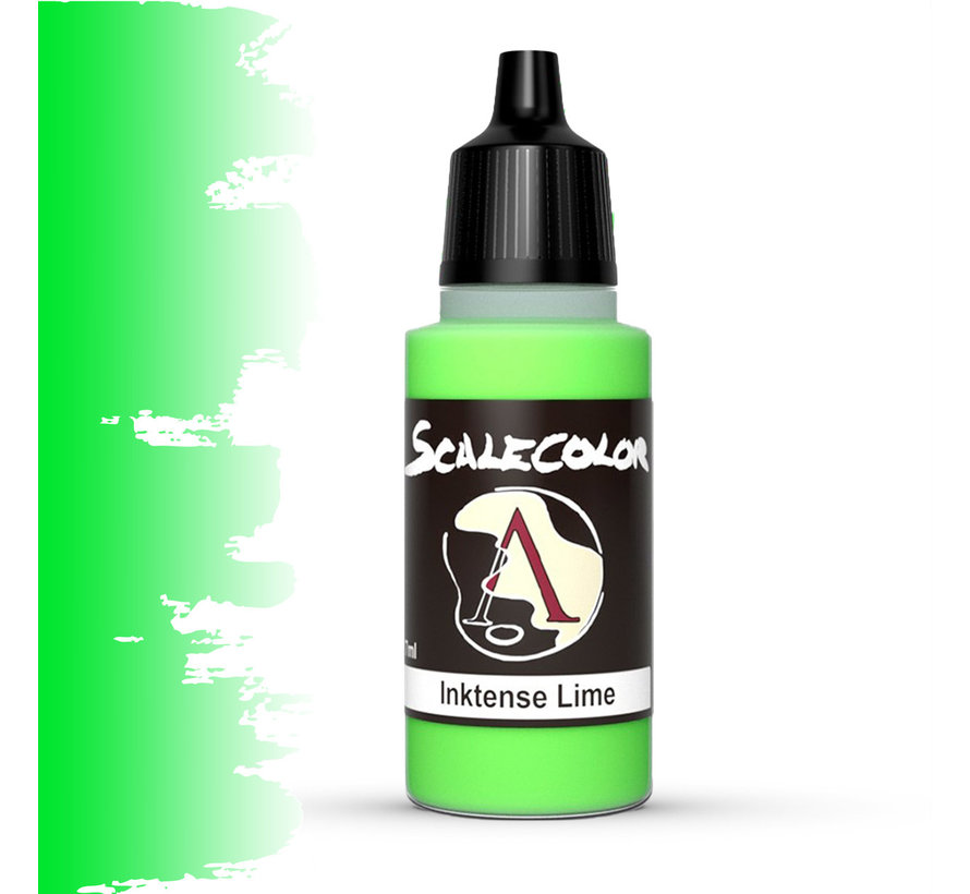 Scale 75 Inktense Lime - 17ml - SC-100