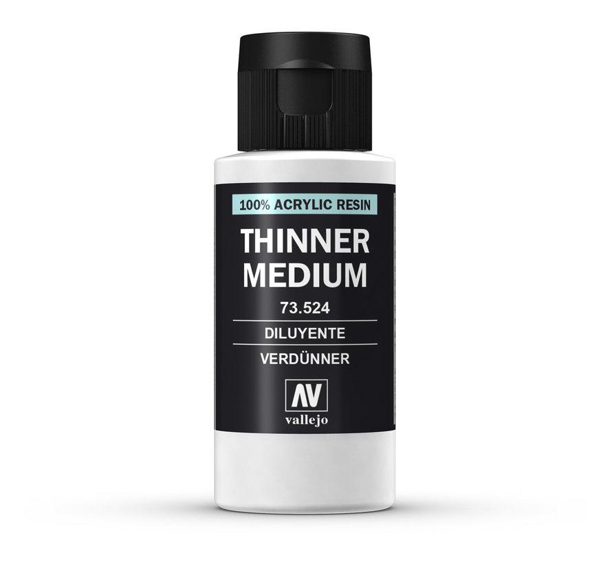 Vallejo Thinner Medium - 60ml - 73524