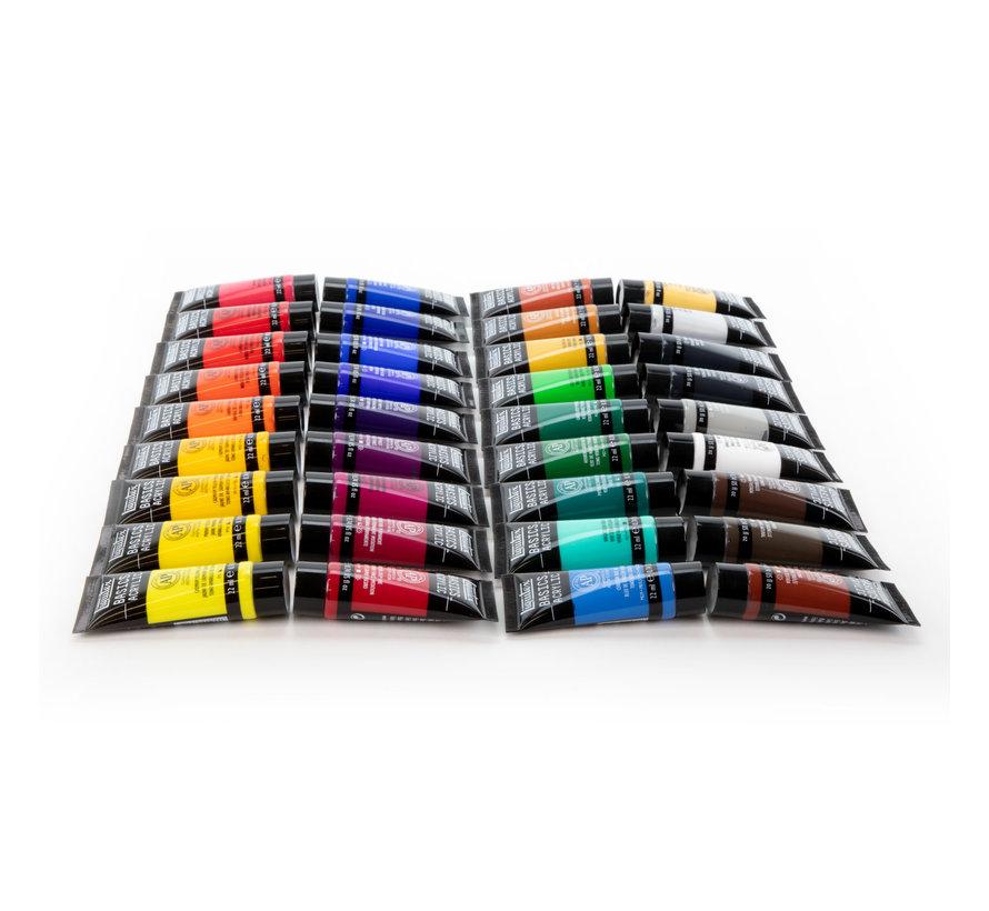 Liquitex Basics Acrylic - 36 kleuren - 22ml - 3699360