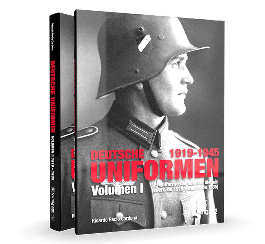 Abteilung 502 Deutsche Uniformen 1919-1935 Volume 1 - Engels - 212pag - ABT730