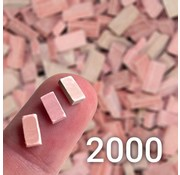 Juweela Rood mix baksteen 1:35 - 2000x - 23035