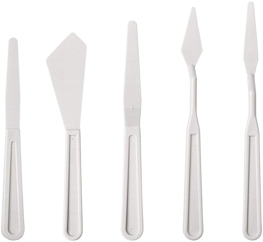 Liquitex Paletmessen Plastic - 5x - 3699371