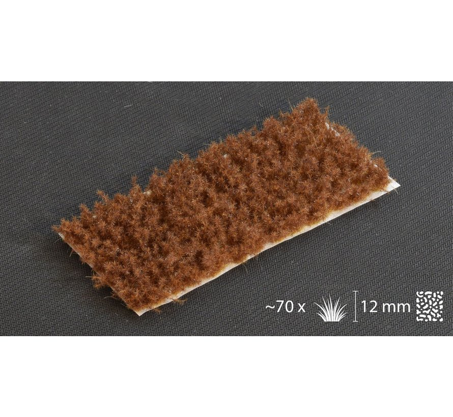 Gamers Grass Spikey Brown Wild Tuft 12mm - GGK-B