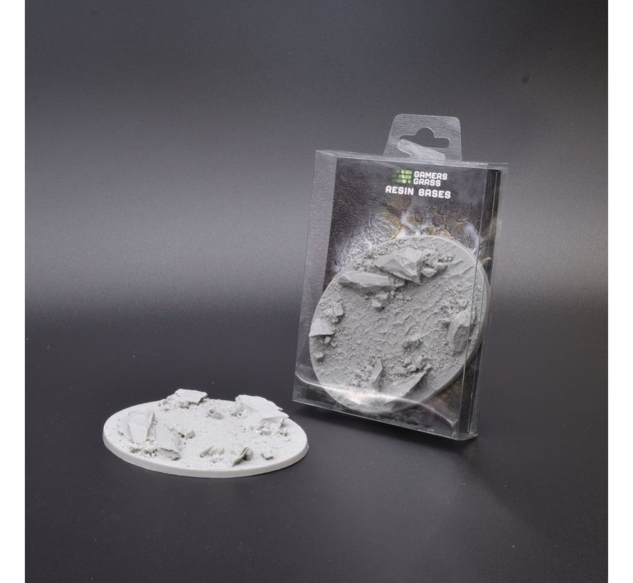 Gamers Grass Rocky Fields Resin Bases Oval 120mm - 1x - GGRB-RFO120