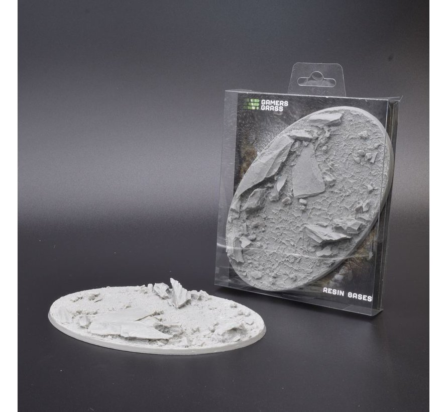 Gamers Grass Rocky Fields Resin Bases Oval 170mm - 1x - GGRB-RFO170