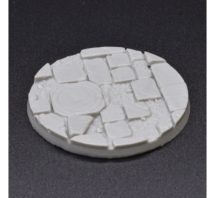 Gamers Grass Temple Resin Bases Round 60mm - 2x - GGRB-TR60