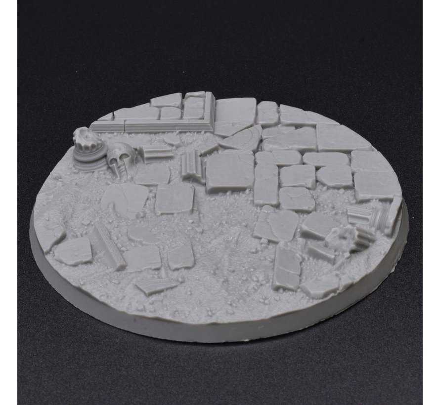 Gamers Grass Temple Resin Bases Round 100mm - 1x - GGRB-TR100