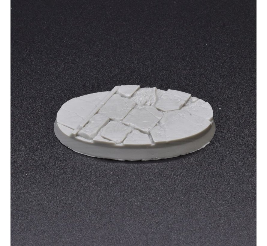 Gamers Grass Temple Resin Bases Oval 60mm - 4x - GGRB-TO60