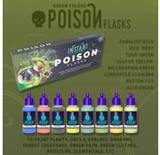 Scale 75 Poison Flasks Paint Set Instant Colors - 8 kleuren - 17ml - SCL-SSE-102