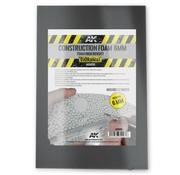 AK interactive Construction Grey Foam - 295x195x6mm - 2x - AK-8096