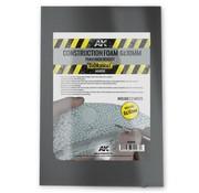 AK interactive Construction Grey Foam - 295x195x10mm & 6mm - AK-8098