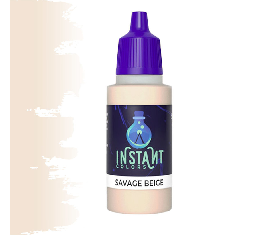 Scale 75 Savage Beige Instant Colors - 17ml - SIN-41