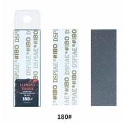 DSPIAE Adhesive Sandpaper 180 grit strips - 75x25mm - 10x - MSP-180
