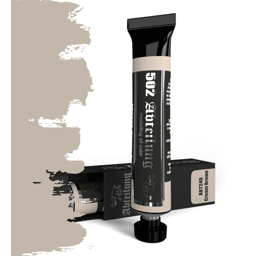 Abteilung 502 Cream Brown Modeling Oil Color - 20ml - ABT240