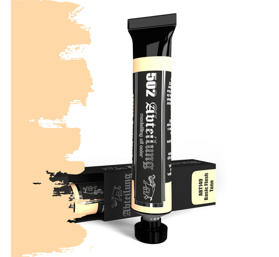 Abteilung 502 Basic Flesh Tone Modeling Oil Color - 20ml - ABT140