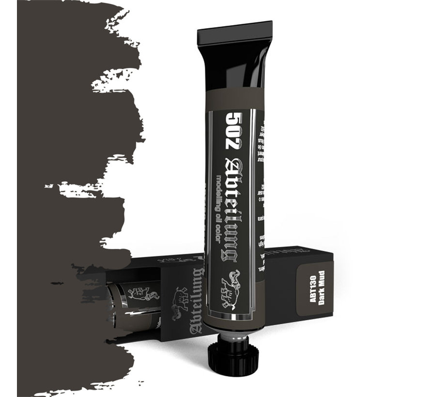 Abteilung 502 Dark Mud Modeling Oil Color - 20 ml - ABT130