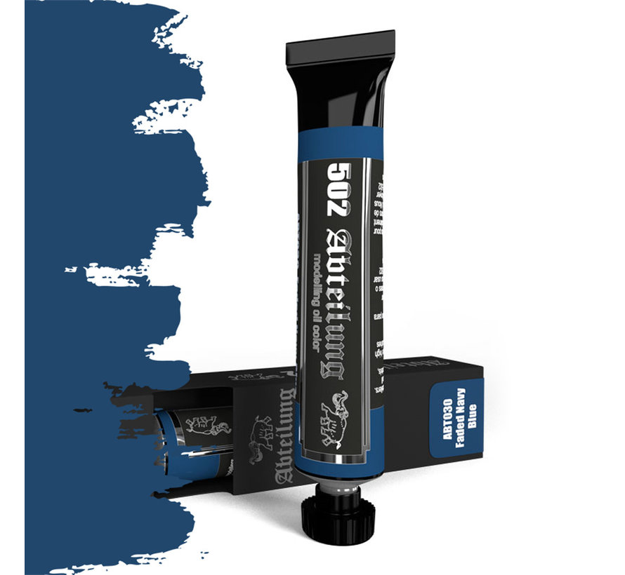 Abteilung 502 Faded Navy Blue Modeling Oil Color - 20ml - ABT030