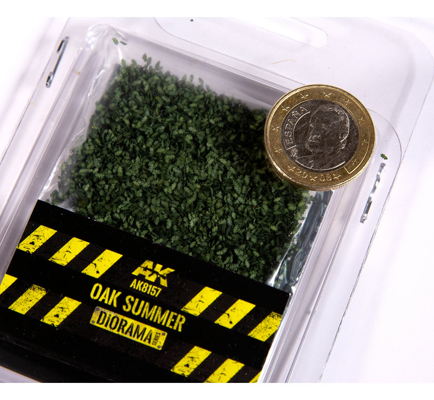 AK interactive Oak Summer Leaves - 28mm 1:72 - 7g - AK8157