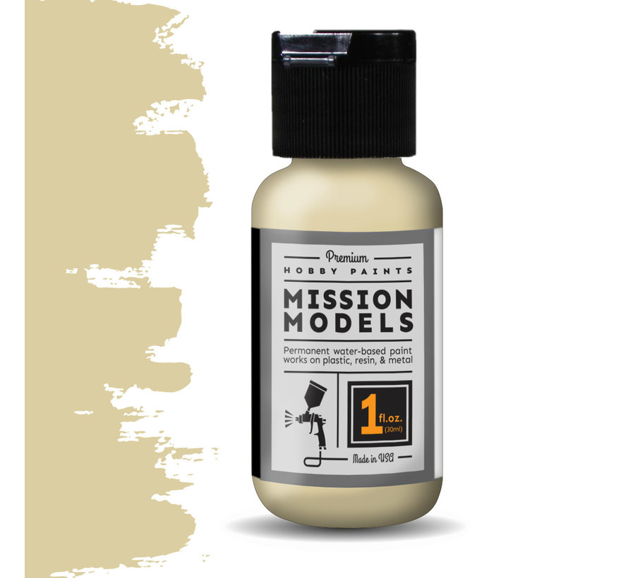 Mission Models Dunkelgelb Late  - Acrylic Airbrush Paint - 30ml - MMP-019