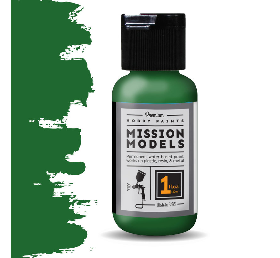 Mission Models Farm Tractor Green - Acrylic Airbrush Paint - 30ml - MMP-124