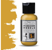 Mission Models New Construction Yellow  - Acrylic Airbrush Paint - 30ml - MMP-125
