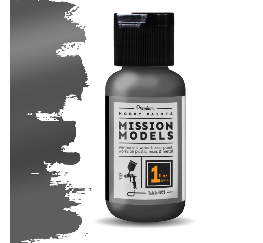 Mission Models Cold Rolled Steel - Metallic Acrylic Airbrush Paint - 30ml - MMM-002