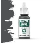 Vallejo Panzer Aces Dark Rubber - 17ml - 70306