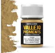 Vallejo Pigment Dark Yellow Ochre - 35ml - 73103
