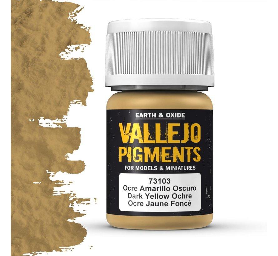 Pigment Dark Yellow Ochre - 35ml - 73103