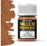 Vallejo Pigment Natural Siena - 35ml - 73105