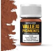 Vallejo Pigment Burnt Siena - 35ml - 73106