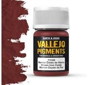 Vallejo Pigment Brown Iron Oxide - 35ml - 73108