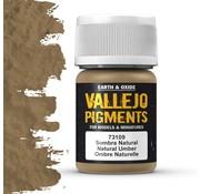 Vallejo Pigment Natural Umber - 35ml - 73109