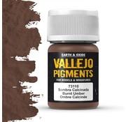 Vallejo Pigment Burnt Umber - 35ml - 73110