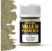 Vallejo Pigment Green Earth - 35ml - 73111