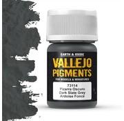 Vallejo Pigment Dark Slate Grey - 35ml - 73114