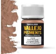 Vallejo Pigment European Earth - 35ml - 73119