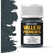 Vallejo Pigment Dark Steel - 35ml - 73123