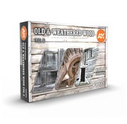 AK interactive Old & Weathered Wood Volume 2 - 6 kleuren - 17ml - AK11674