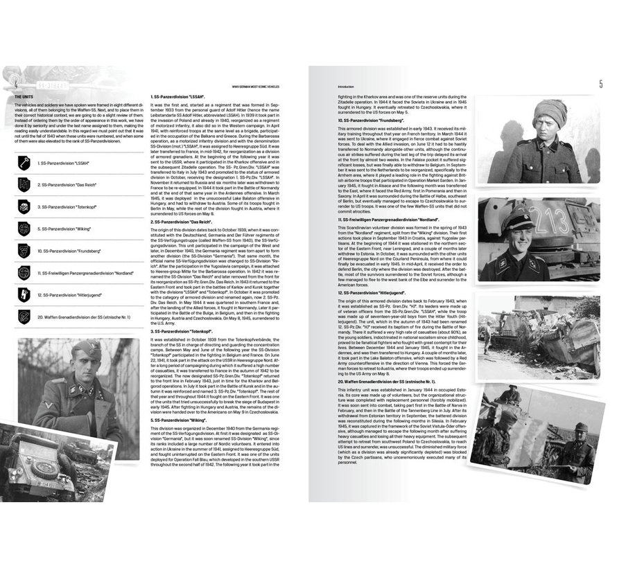 AK interactive WWII German Most Iconic SS Vehicles Volume 1 - 160pag - AK514
