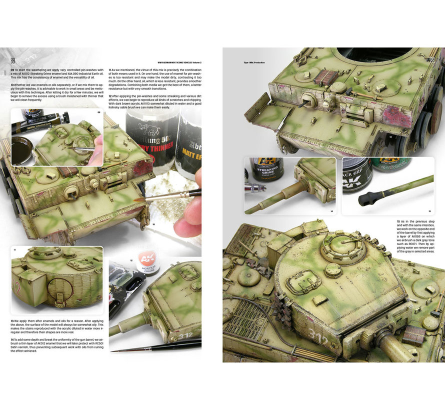 AK interactive WWII German Most Iconic SS Vehicles Volume 2 - 172pag - AK516