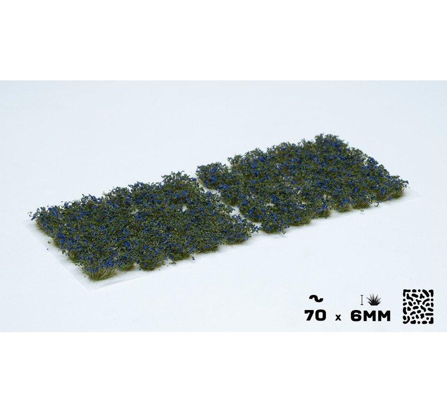 Gamers Grass Blue Flowers Wild Tuft 6mm - GGF-BL