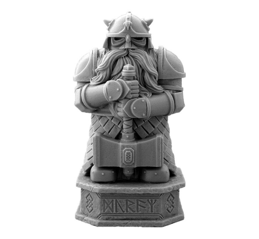 Mini Monsters Dwarf Warrior Statue - MM-0017