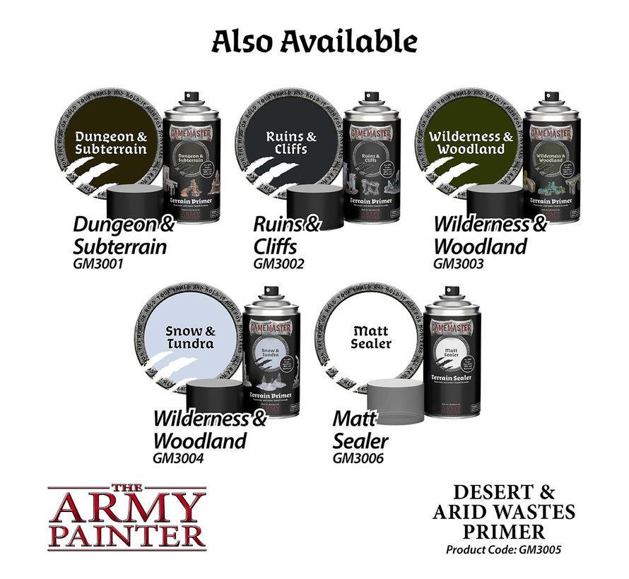 The Army Painter Desert and Arid Wastes Terrain Primer - 300ml - GM3005