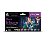 Vallejo Elves and Gnomes Fantasy Color Series - 8 kleuren - 17ml - 70242