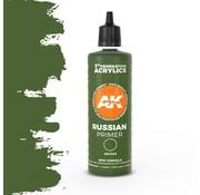 AK interactive Russian Green Surface Primer 3rd generation - 100ml - AK11246