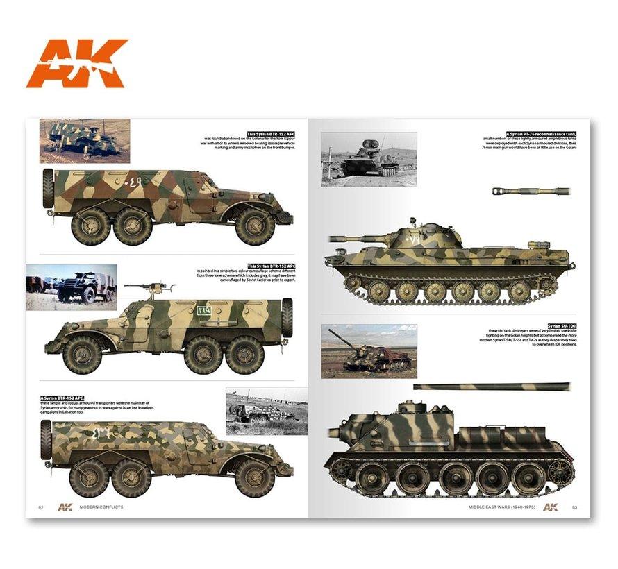 AK interactive Middle East Wars 1948-1973 Vol.1 - 100pag - English - AK284