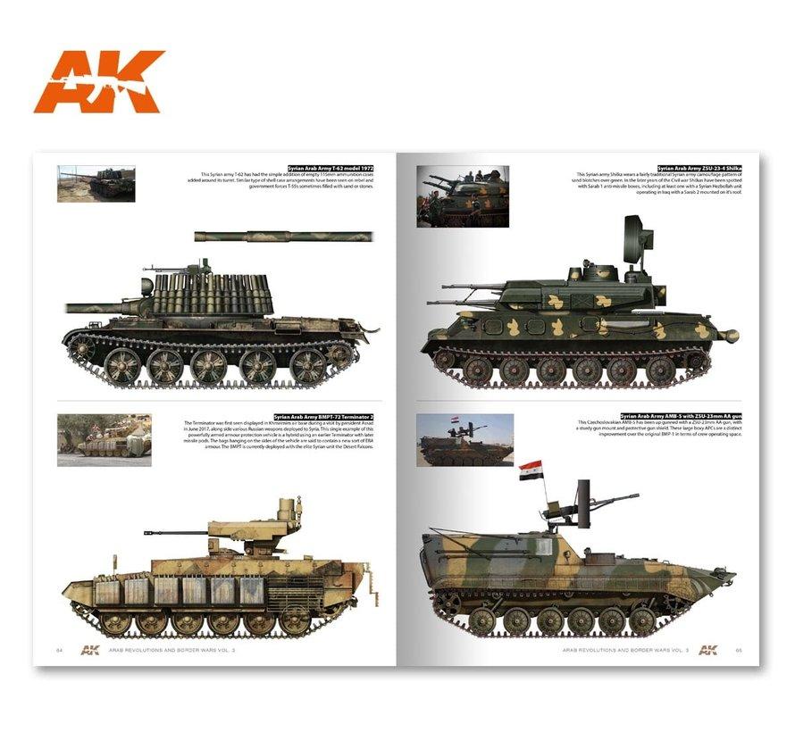 AK interactive Arab Revolutions and Border Wars Vol. 3 - 148pag - English - AK286