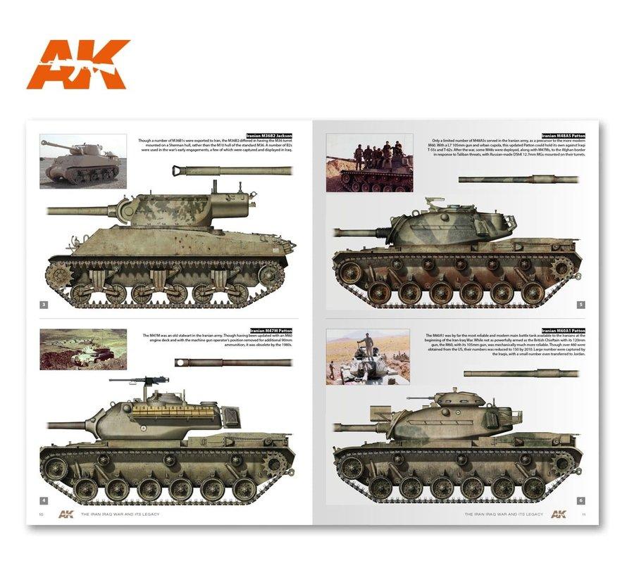 AK interactive The Iran Iraq War 1980-1988 Modern Conflicts Vol. 4 - 140pag - English - AK291